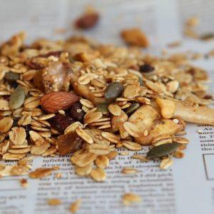 גרנולה טבעית ללא סוכר 450 גרם