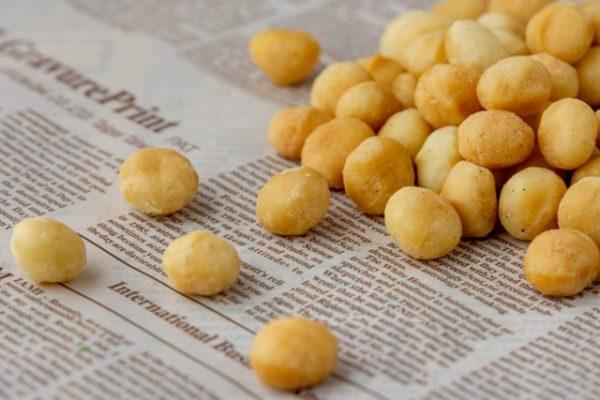 מקדמיה טבעי, פיצוחים קלויים  - GO NUTS פיצוחי בריאות