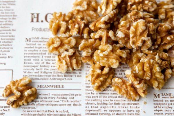 אגוז מלך טבעי, פיצוחים קלויים  - GO NUTS פיצוחי בריאות