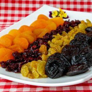 מגש פירות יבשים מהודר