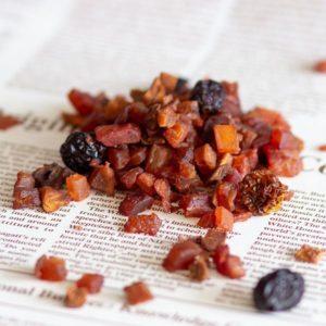 חליטת תה סופר פוד פירות יער ללא סוכר 200 גרם