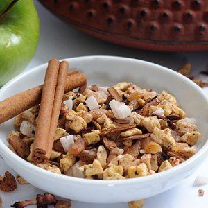 חליטת תה תפוח קינמון מופחת סוכר 200 גרם