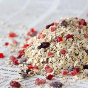 תערובת שיבולת שועל פירות יער 500 גרם (ללא סוכר)