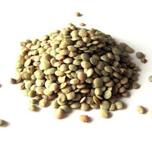 עדשים ירוקים 450 גרם